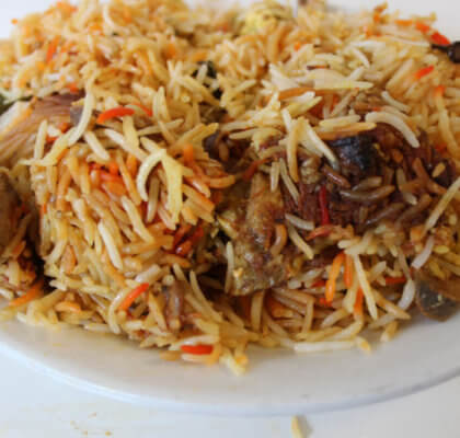 pork biryani recipe