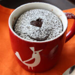 Microwave Chocolate Cake in a Mug