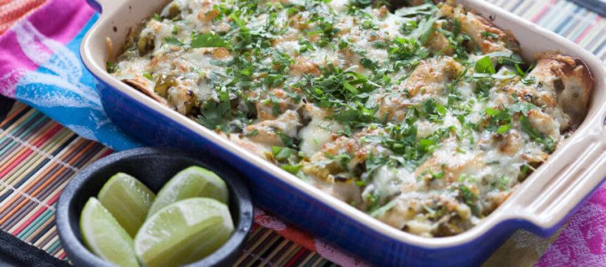Make-Ahead Vegan Enchiladas